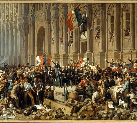 Philippoteaux_-_Lamartine_in_front_of_the_Town_Hall_of_Paris_rejects_the_red_flag